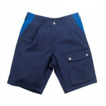 044491 Hydrowear Shorts Goes Navy/Royal Blue