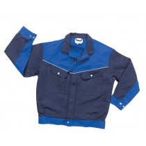 045489 Hydrowear Jacket Image Line Groningen Navy/Royal blue