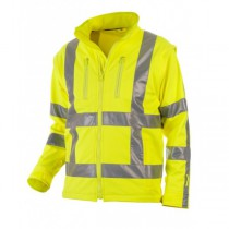 04025980 Hydrowear Softshell Jack Thermo Line Toulon EN471 RWS (Yellow or Orange)