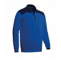 CBS - Polosweater Tesla royal blue/navy